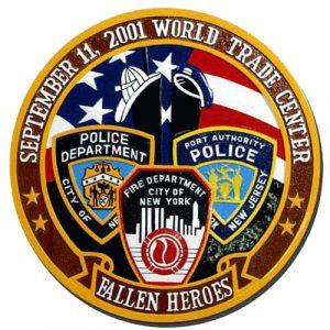 World Trade Center WTC Seal / Podium Plaque