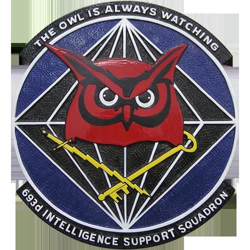 963rd Intelligence Support SQ Emblem