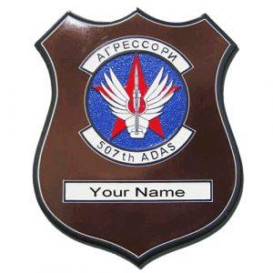 507th ADAS Plaque