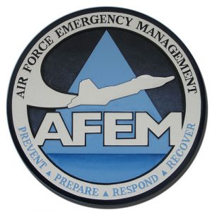 USAF Emergency Management Seal