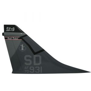 Air Guard A-7 SD AF90 Tail Flash Wall Plaque
