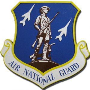 Air National Guard Emblem Plaque