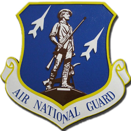 Air National Guard Emblem Plaque