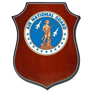 US Air National Guard Plaque