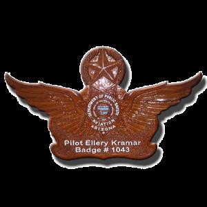"""18"""" Arizona Aviation Wings"""