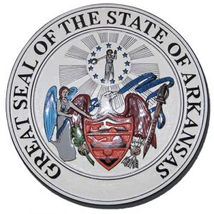 Arkansas State Seal Plaque