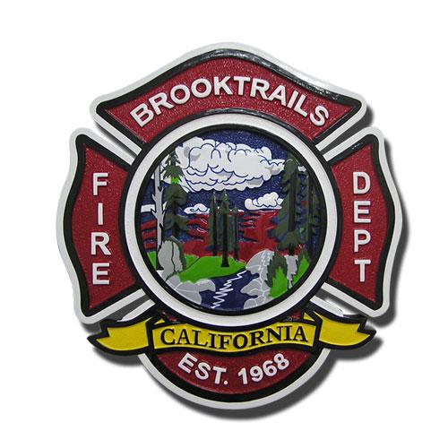 Brooktrails Fire-Department Seal