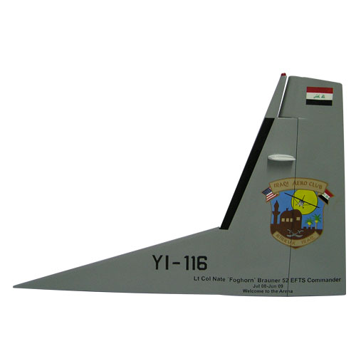 USAF C208-YI-116 Tail Flash Wall Plaque