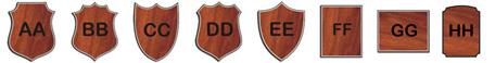 U.S. Coast Guard (USCG) Shield Plaque