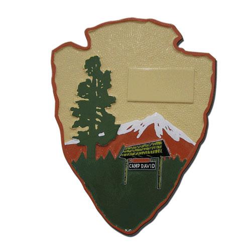 Camp David Command Plaque