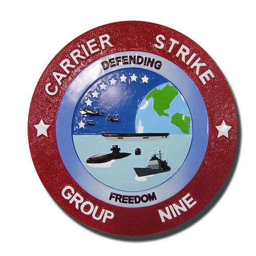 Carrier Strike Group 9 Seal