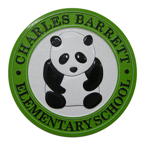 Charles Barrett Elementary School Seal
