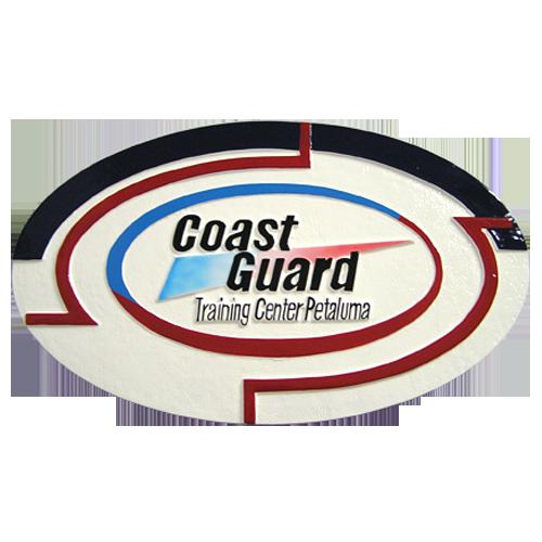 Coast Guard Training Center Petaluma Emblem