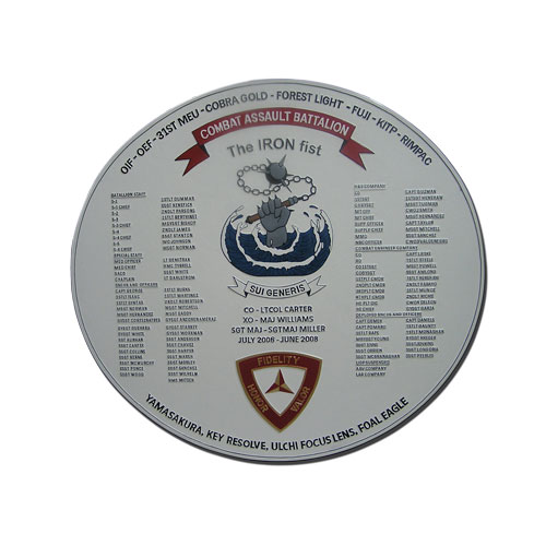 31st Marine Corps Expeditionary Force Deployment Plaque