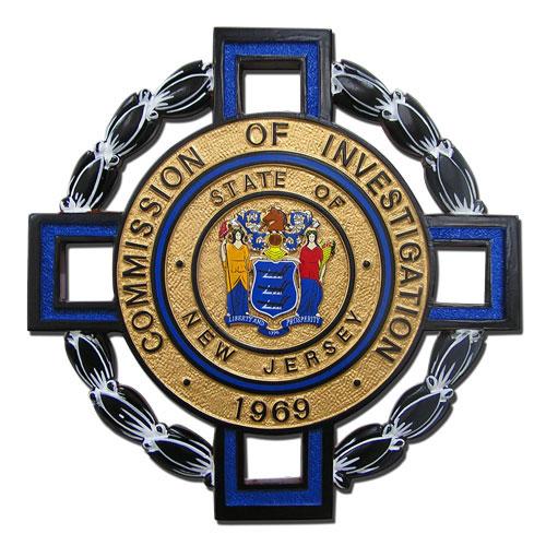 Commission of Investigation, NJ Emblem