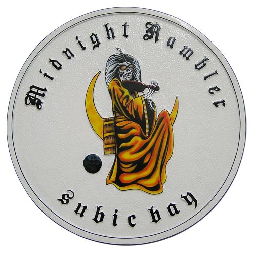 Midnight Rambler Subic Bay Plaque