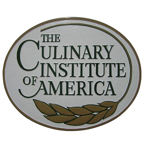 The Culinary Institute of America Plaque