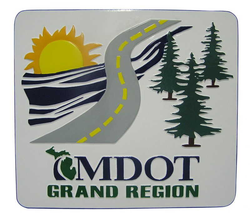MDOT Grand Region Plaque
