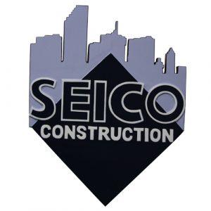 Seico Construction Plaque