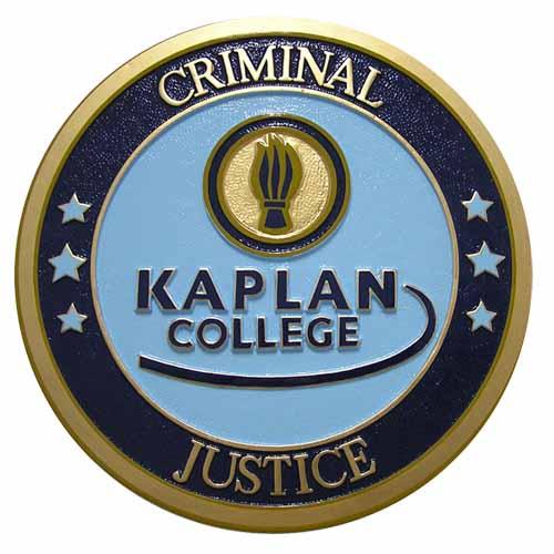 Criminal Justice Kaplan College Seal
