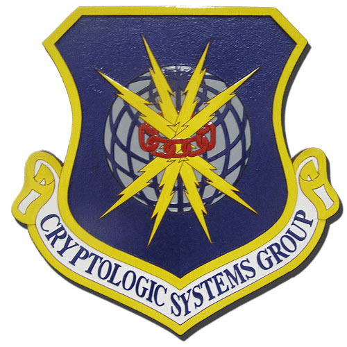 Cryptologic Systems Group Emblem