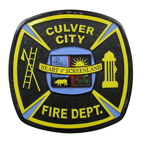Culver City Fire Department Patch Emblem