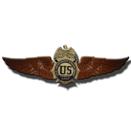 DEA Wings Insignia Plaque