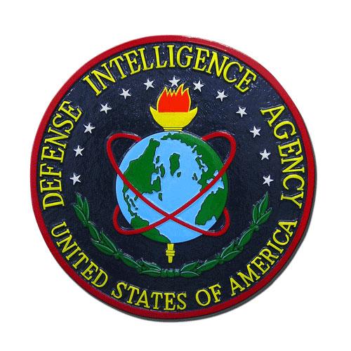 US Defense Intelligence Agency DIA Seal / Podium Plaque