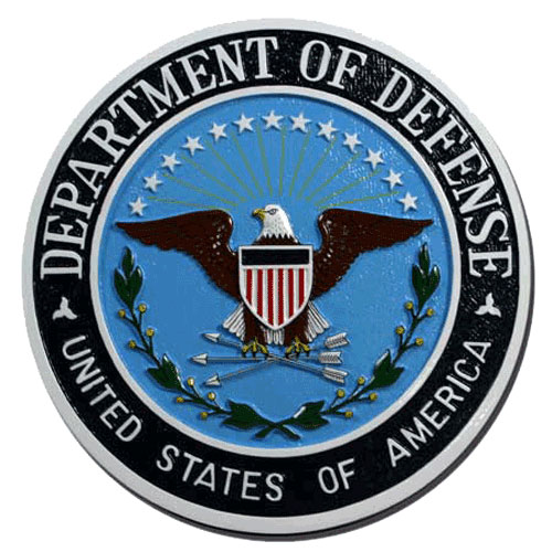 Department of Defense Dod Seal / Podium Plaque