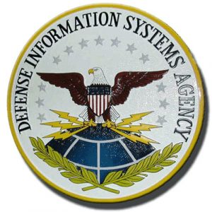 Defense Information Systems Agency Seal / Podium Plaque