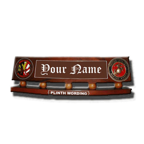 Deluxe Desk Name Plate