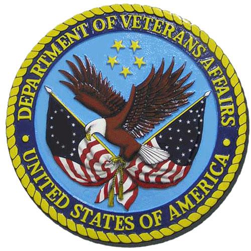 US Department of Veterans Affairs Seal / Podium Plaque