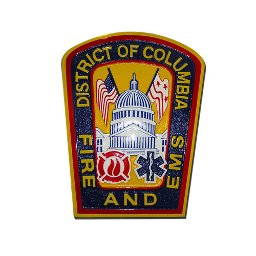 District of Columbia Fire and EMS Emblem