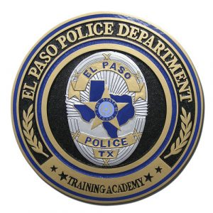 El Paso TX Police Dept Training Center Seal
