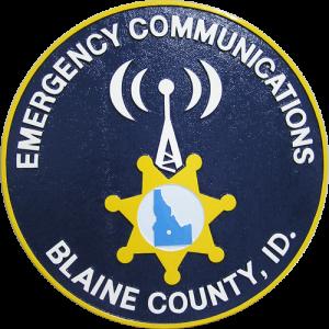 Emergency Communications Blaine County Seal