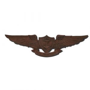 Enlisted Aviation Warfare Specialist EAWS Badge Insignia Plaque