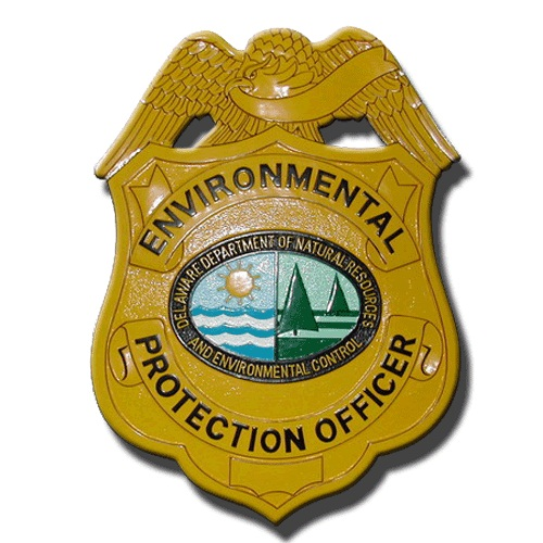Environmental Protection Officer Badge Plaque
