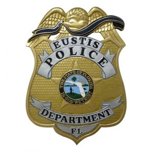 Eustis FL Police Dept Badge Plaque