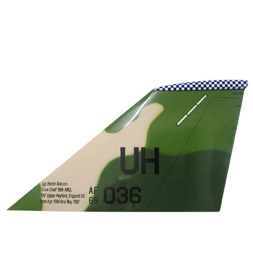USAF F1-11S Tail Flash Wall Plaque