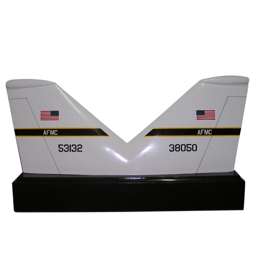 USAF F111 Double Tail Flashes Plaque
