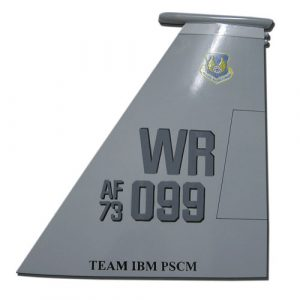 USAF F15E-WR 099 Tail Flash Wall Plaque