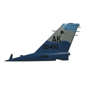 USAF F16-AK3540G Tail Flash Wall Plaque