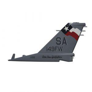 USAF F16 SA 149FW Tail Flash Wall Plaques