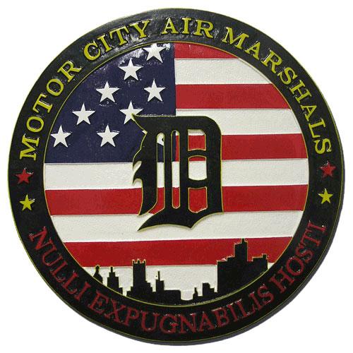 Federal Air Marshal Service Detroit Plaque