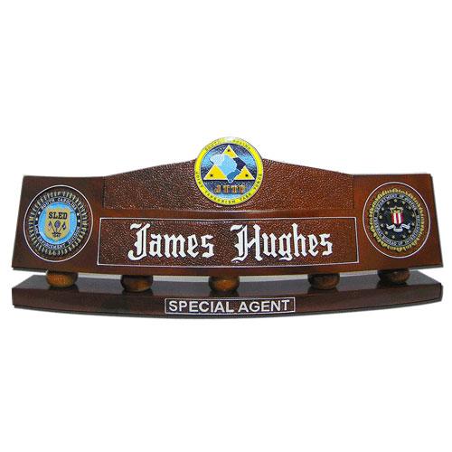 FBI-JTTF Desk Nameplate