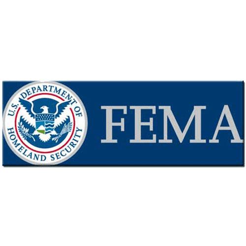 Federal Emergency Management Agency FEMA Seal Plaque