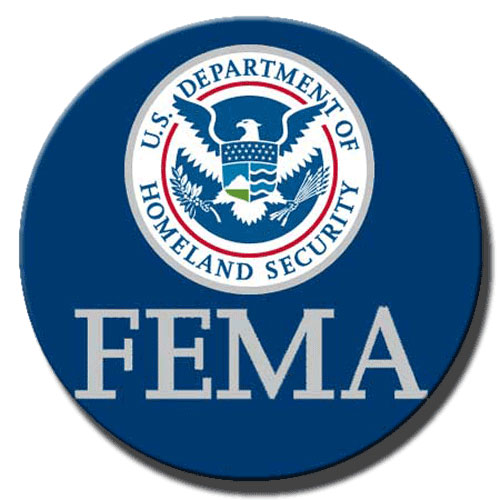 Federal Emergency Management Agency FEMA Seal Plaque (Round)