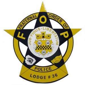 Fraternal Order of Police FOP Badge Plaque Model 1