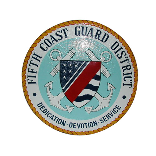 Fifth Coast Guard District Seal