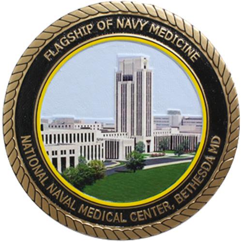 Flagship of Navy Medicine Seal
